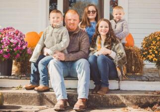 Kandi & Jonathan Family