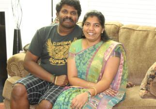 Aravind & Durga Family