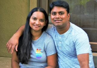 Santosh & Aruna Family