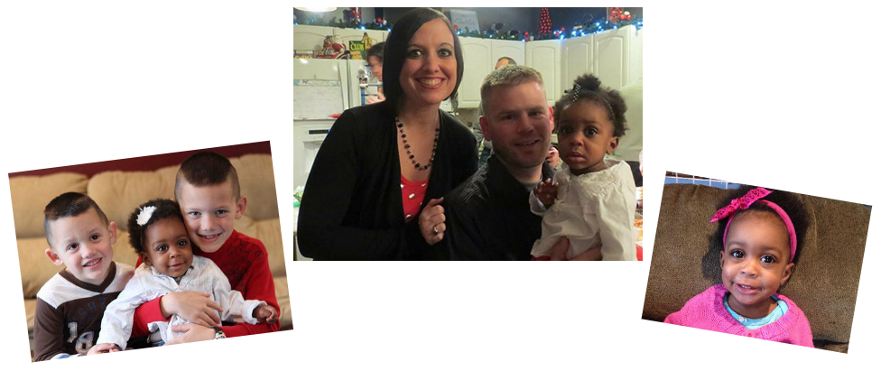 adoptive family Douglas and Amber