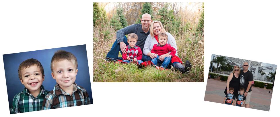 adoptive family Jill and Brian