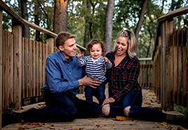 adoptive family Kate and Wes
