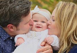 adoptive family Joanna and Bob