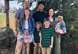 adoptive family Shaun and Julie