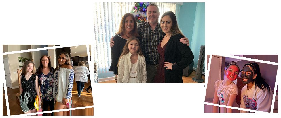 adoptive family Rhonda and Tom