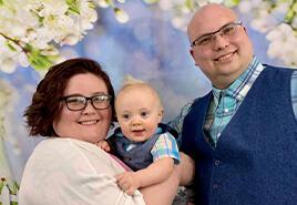 adoptive family Rebecca and Anthony