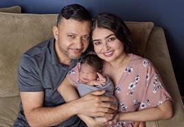 adoptive family Cristina and Abel