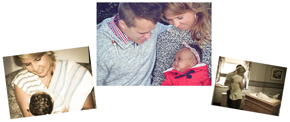 adoptive family Noelle and Tyler