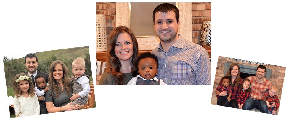 adoptive family Becca and Seth