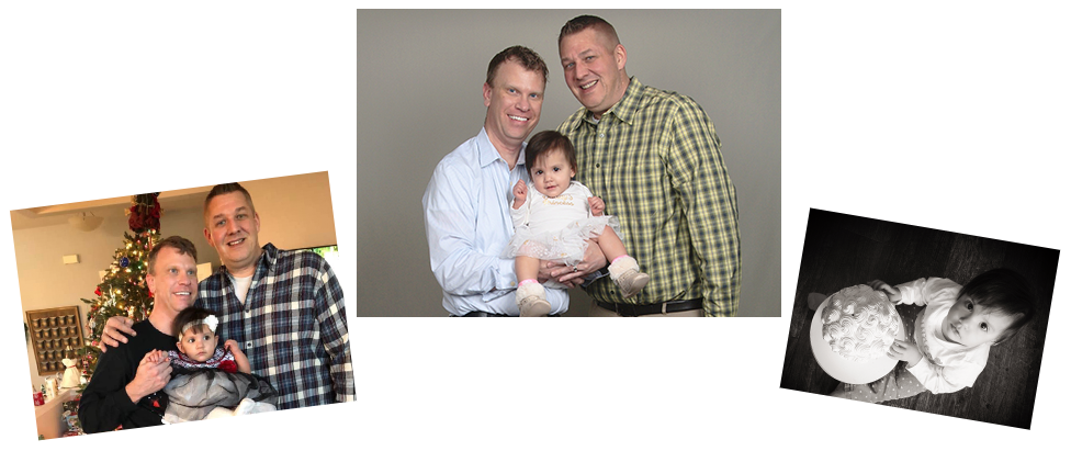 adoptive family Gordon and Adam