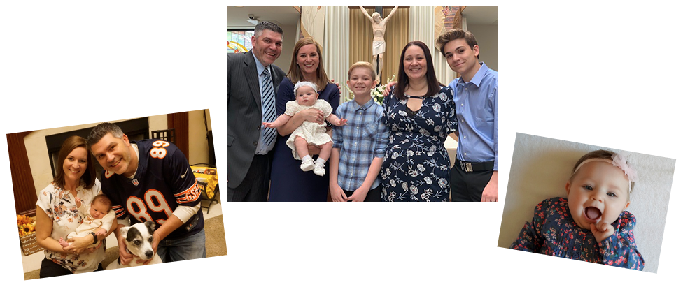 adoptive family Dayna and Brad