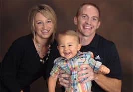 adoptive family Kim and Bryan