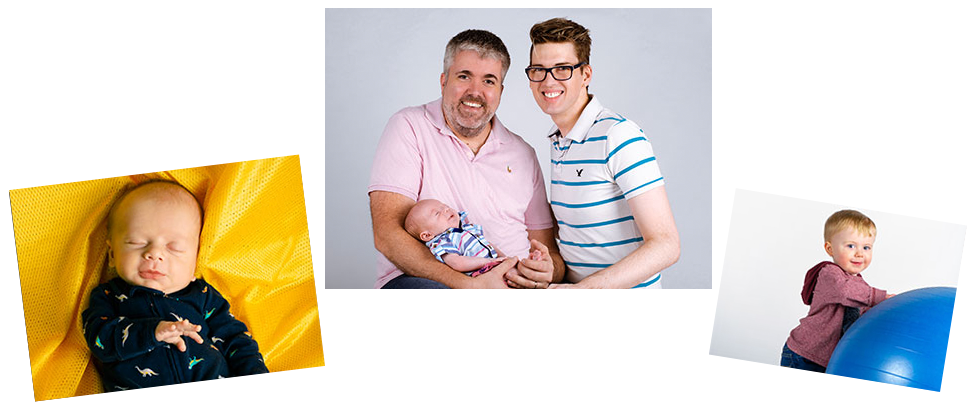 adoptive family Brian and Chris