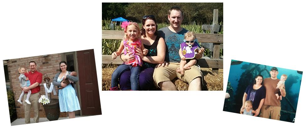 adoptive family Brad and Torie